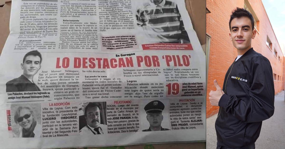 Periódico Colombiano Fake News Nino Polla, Nino Polla, Fake News, Colombia, Bocaya, Jordi El Nino Polla