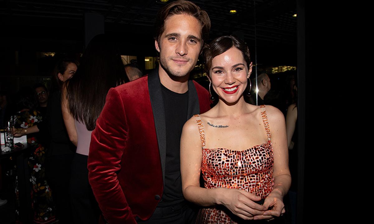 Camila Sodi embarazada de Diego Boneta