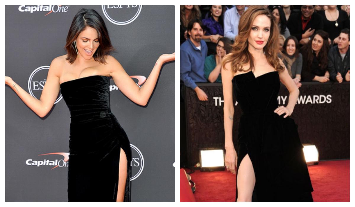 Eiza González Angelina Jolie Alfombra roja