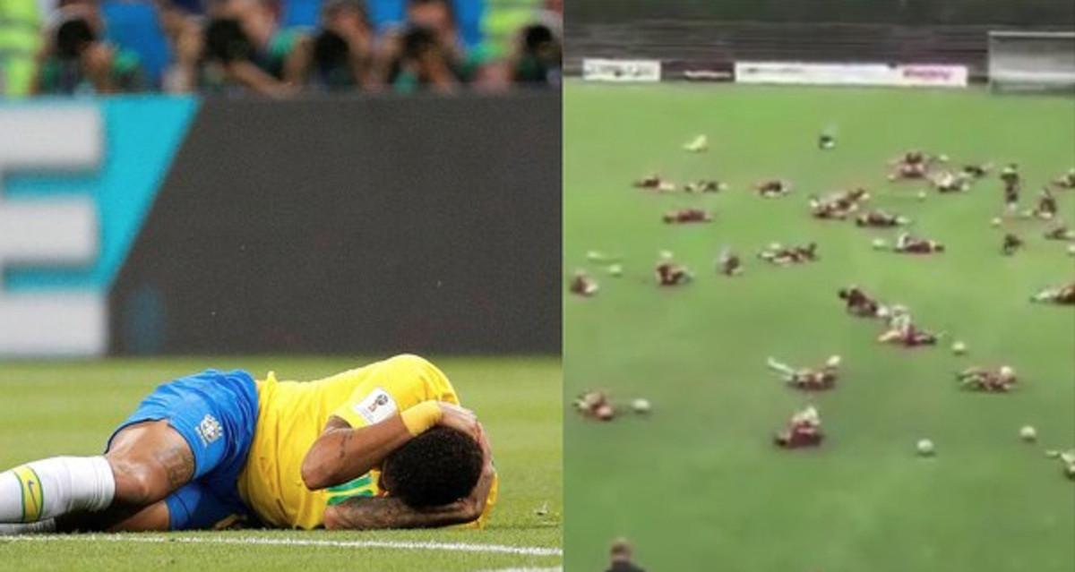 Neymar Challenge Rusia 2018 Burla niños Mundial