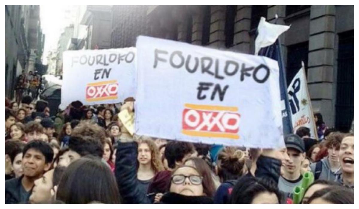 Mexicanos Piden Se Venda FourLoko Oxxo
