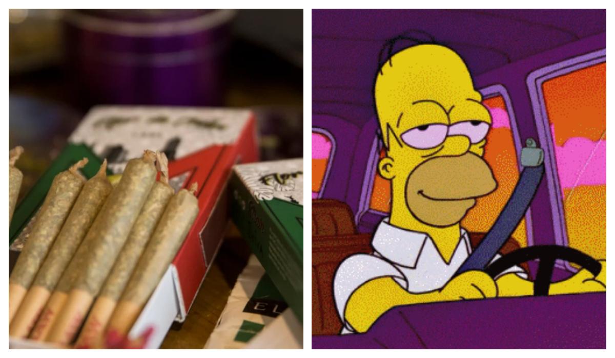 Primera cajetilla mexicana Cigarros de marihuana