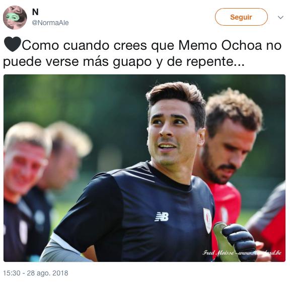 Memo Ochoa se cortó el pelo y hay calentamiento global