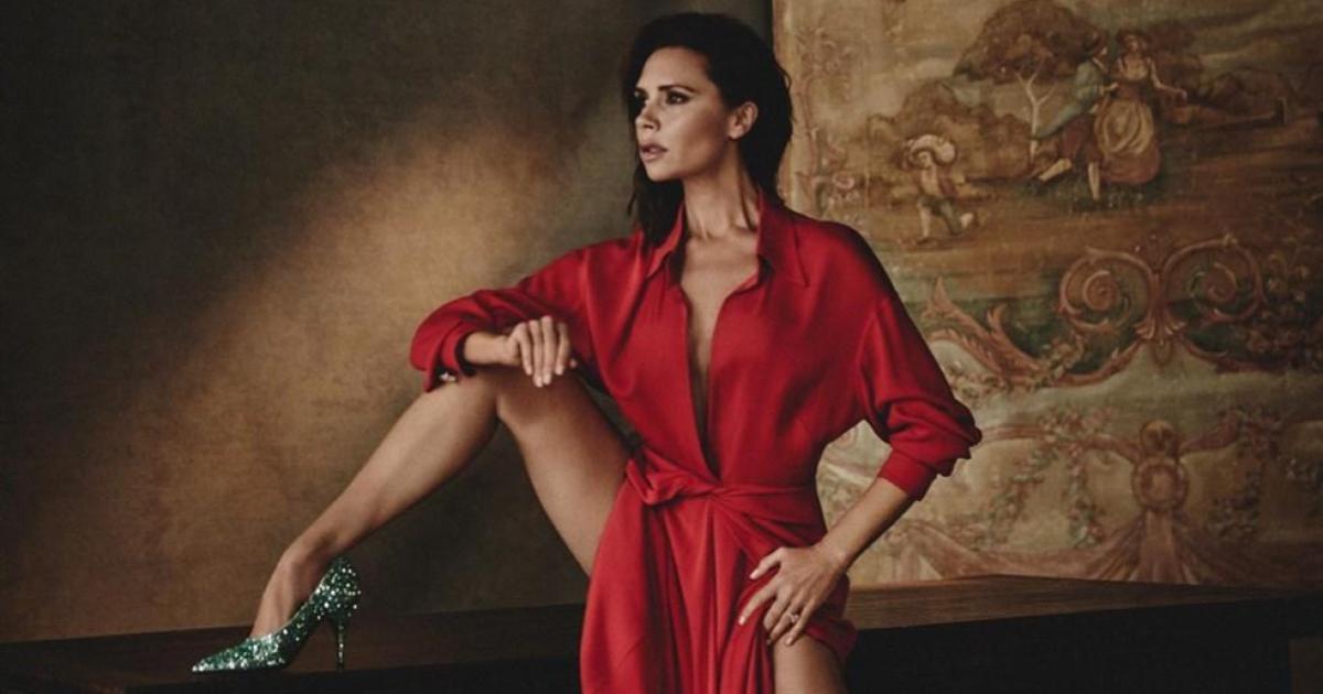 Así se ve la hija de Victoria Beckham imitando su estilo