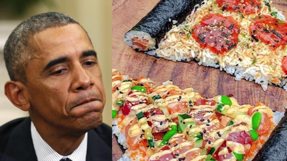 Dejen sus manteconchas y sus donchas, ya llegó el pizzushi