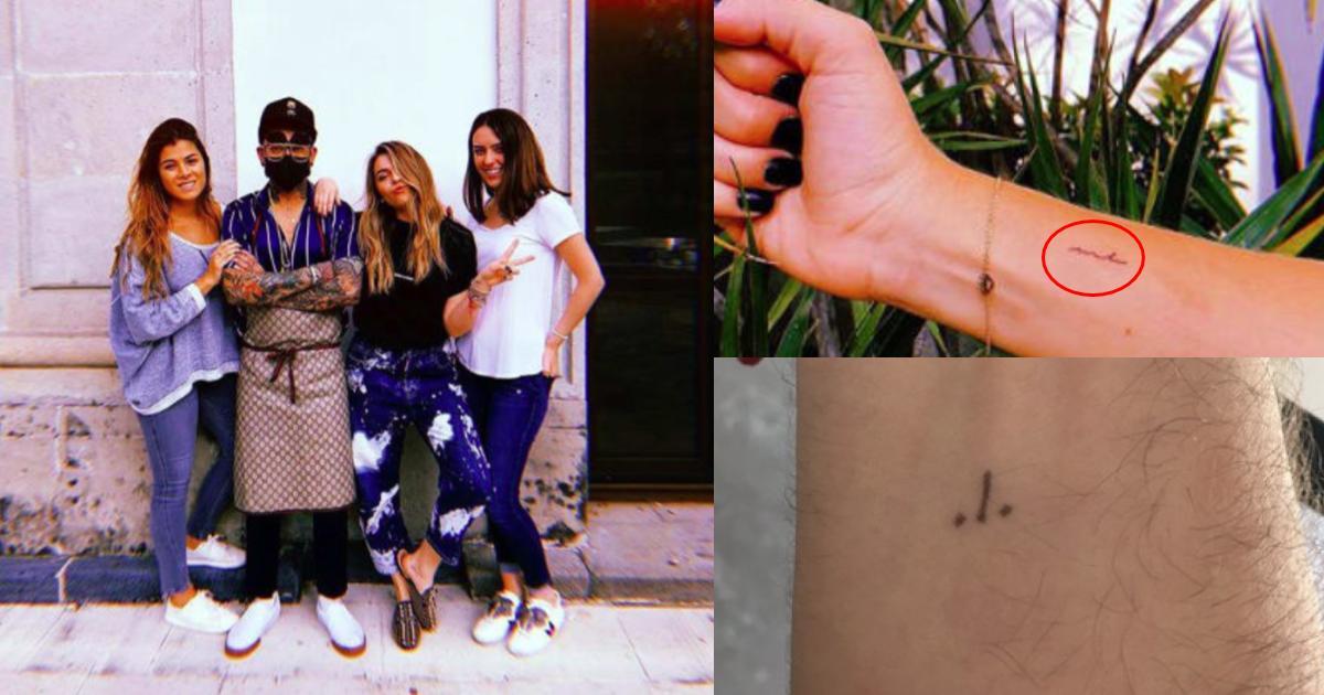 Hijas de Peña se hacen tatuajes y nace el #JonBoyChallenge