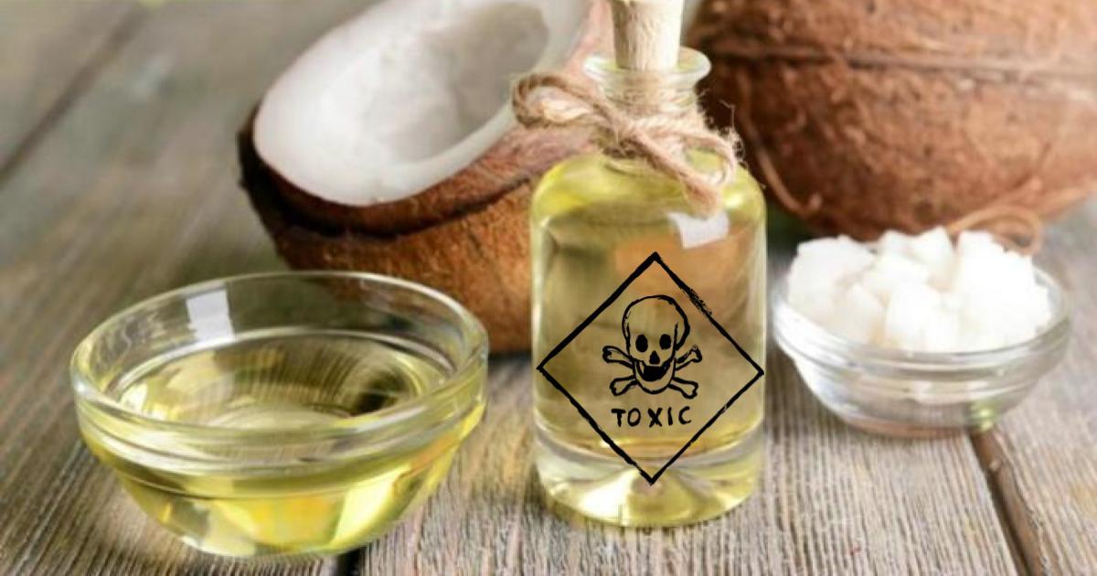 El aceite de coco es prácticamente veneno, según expertos