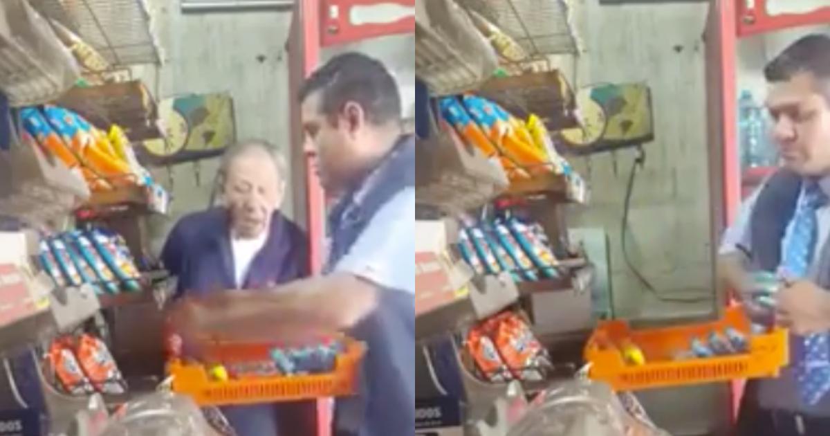 Repartidor Bimbo Roba Anciano Tienda, Empleado Bimbo Roba Pan En Tienda, Roban A Anciano En Tienda, Roban A Viejito, Bimbo, Repartidor Bimbo