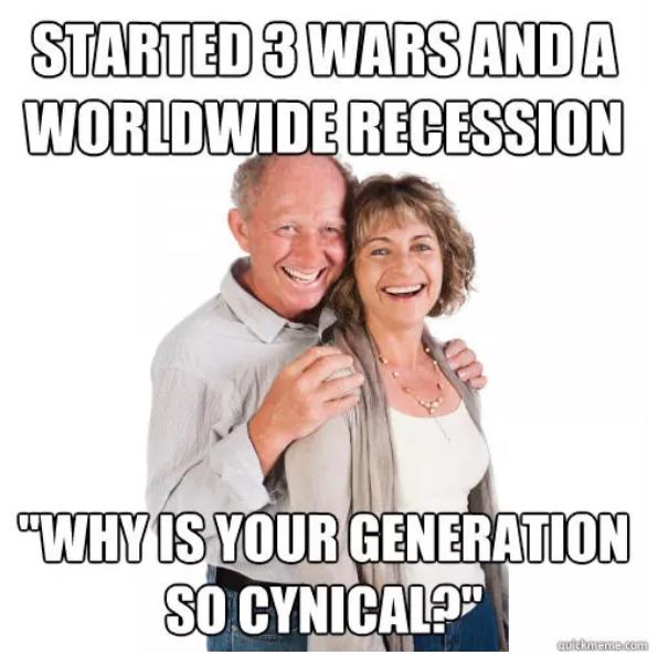 memes que predicen el futuro de los millennials