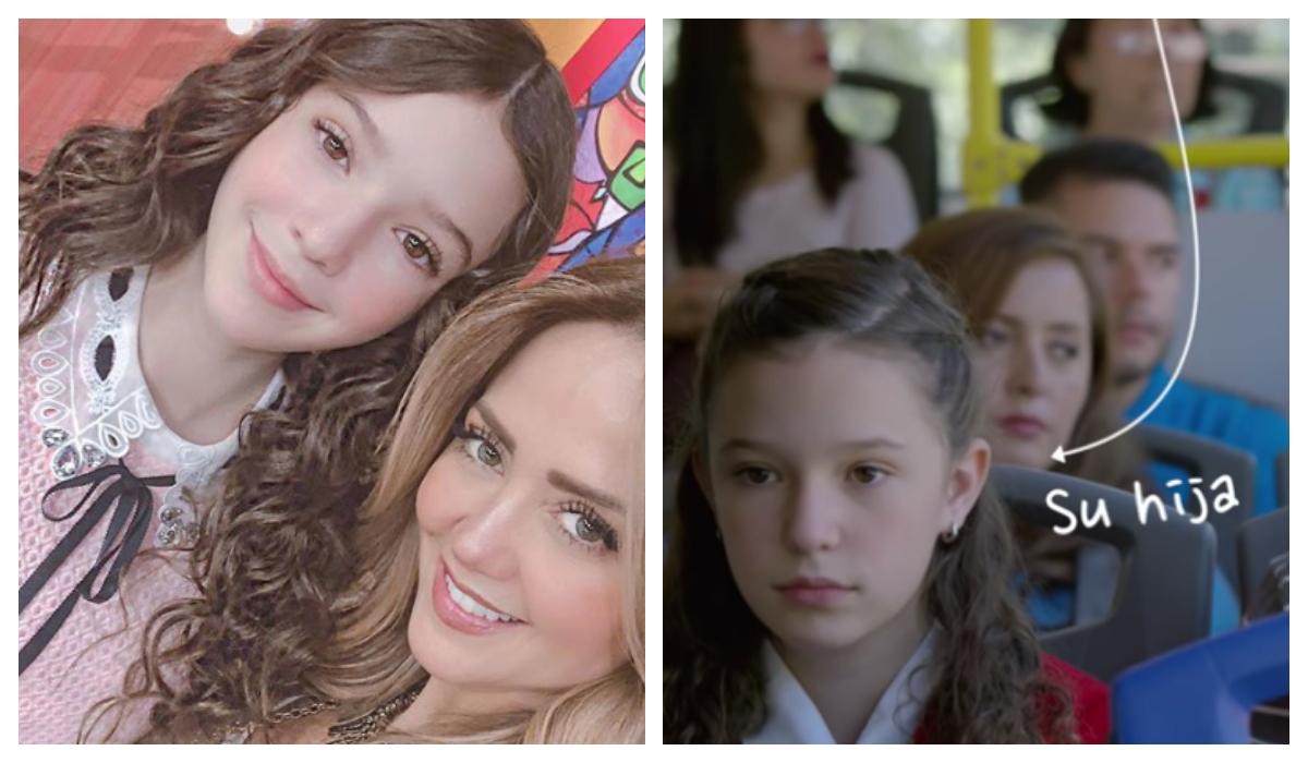 Hija de Andrea Legarreta Debut Cine