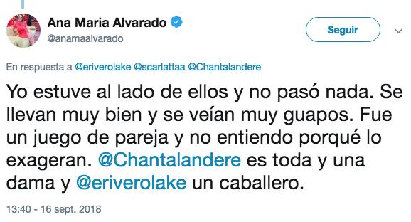 Ana María Alvarado Twitter