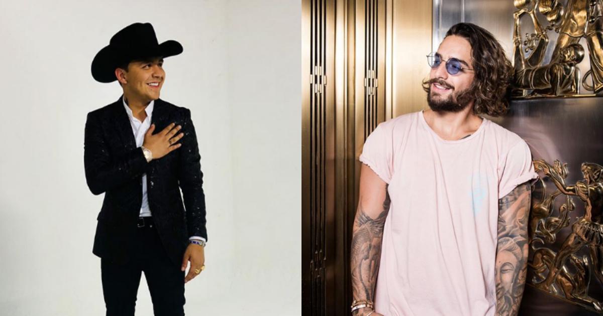 Maluma Y Christian Nodal, Christian Nodal, Maluma, Colaboración, Canción, Maluma Cantando Adios Amor