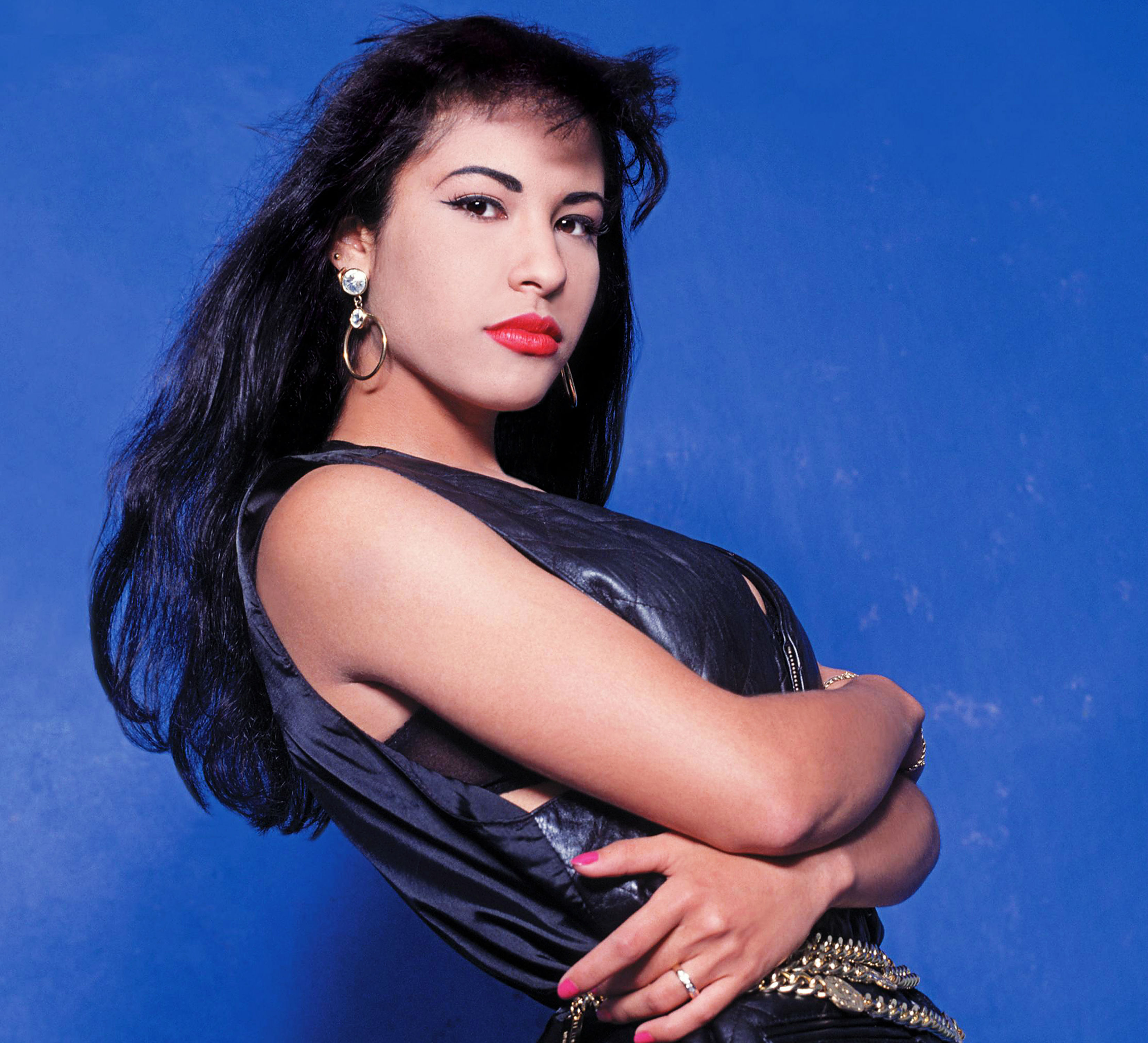 Selena Quintanilla irreconocible en foto de A.B. Quintanilla