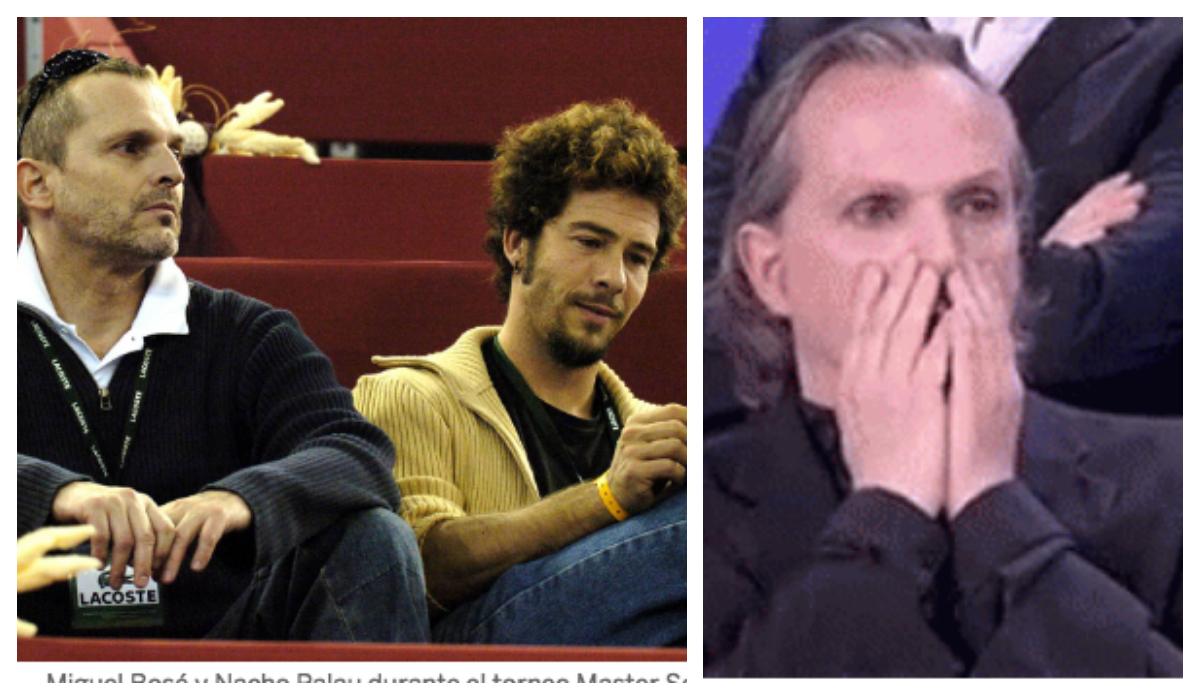 Nacho Palau, ex pareja de Miguel Bosé, emprende demanda