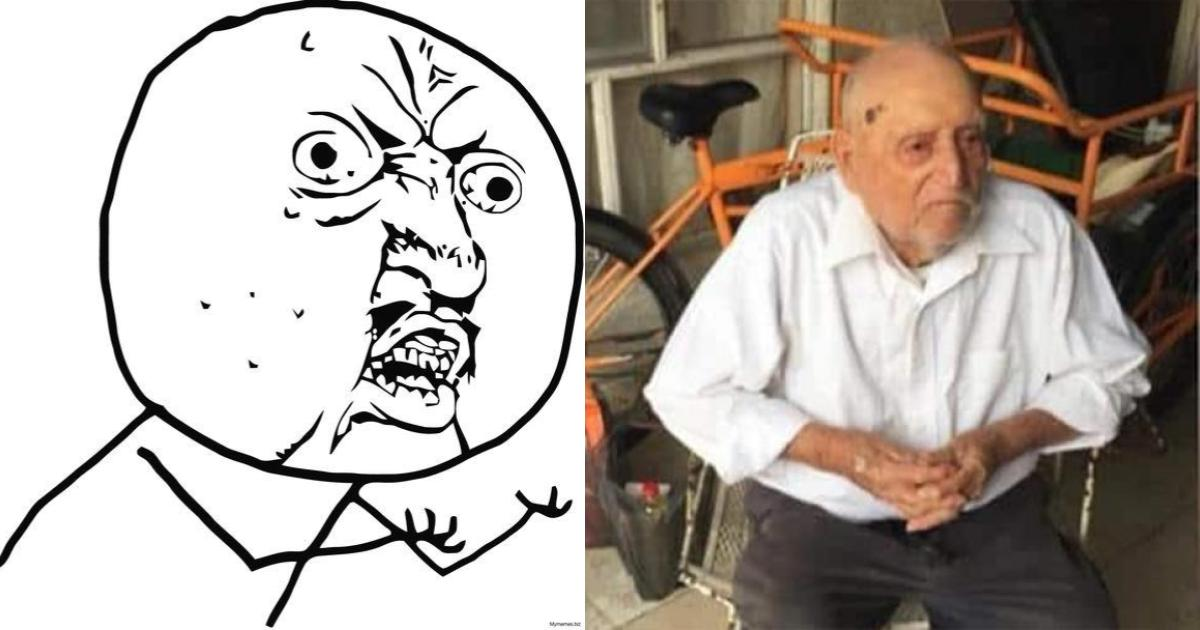 Abuelito de 90 años es estafado: le dieron billetes falsos