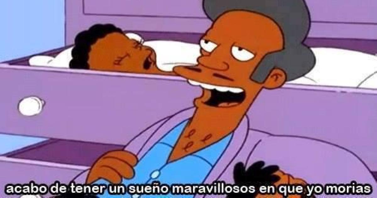 Apu ya no saldrá en Los Simpson y ya estamos llorando