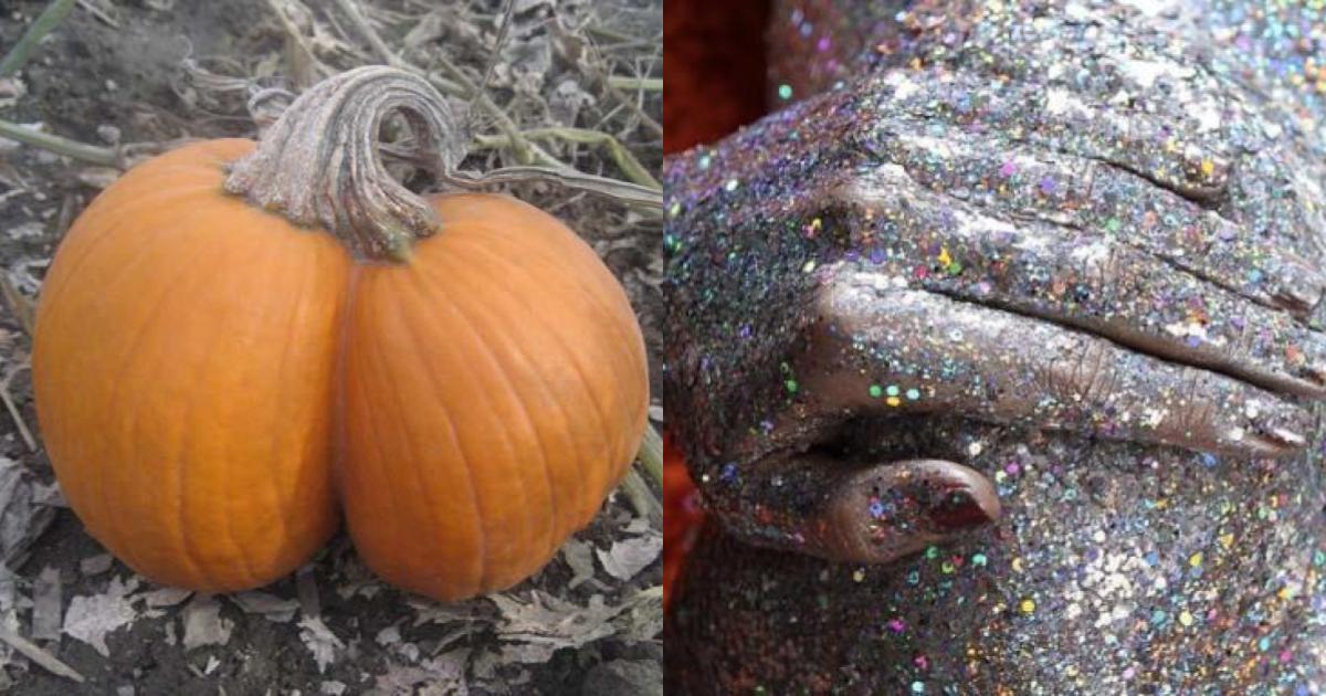 Traseros, calabazas y glitter, la tendencia para Haloween