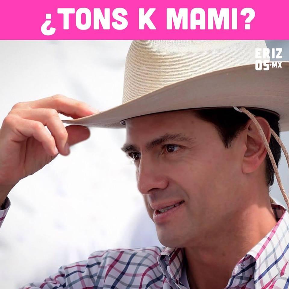Enrique Peña Nieto se convierte en RBD