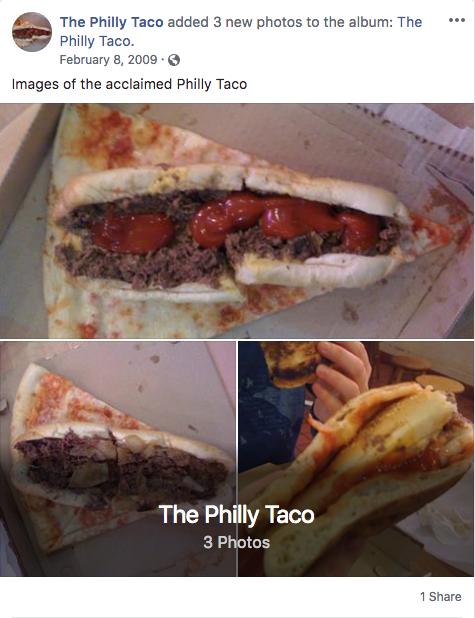 Aparece la pizza-taco-torta