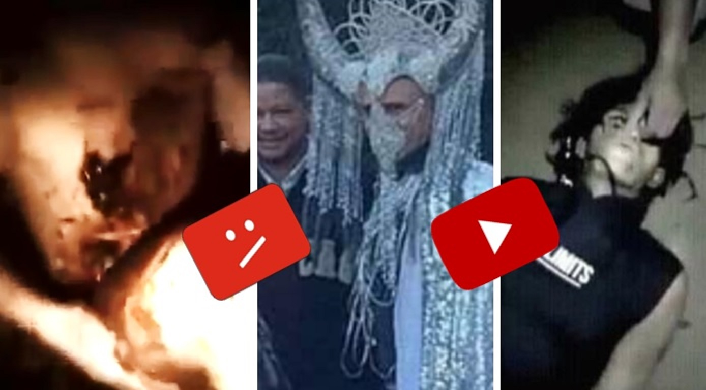 Videos más perturbadores que el reptiliano que tiró YouTube