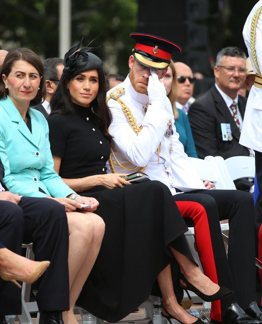 Principe Harry llora durante la visita real a australia