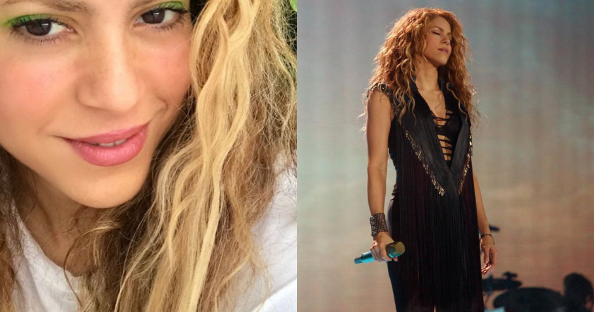 Critican Shakira Pasear Sin Brasier, Shakira, Brasier, Sostén, Disneylandia, Críticas