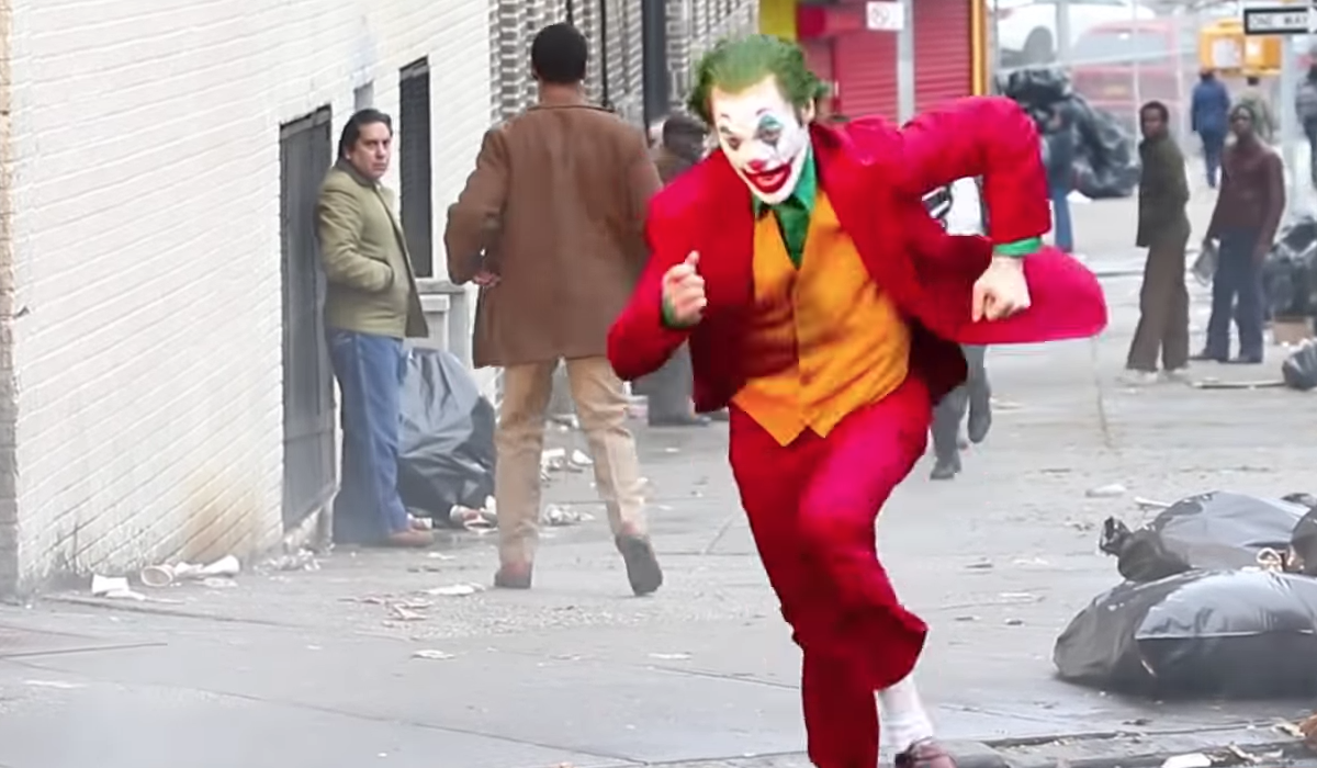 Video Filtran Escena Joaquin Phoenix Joker