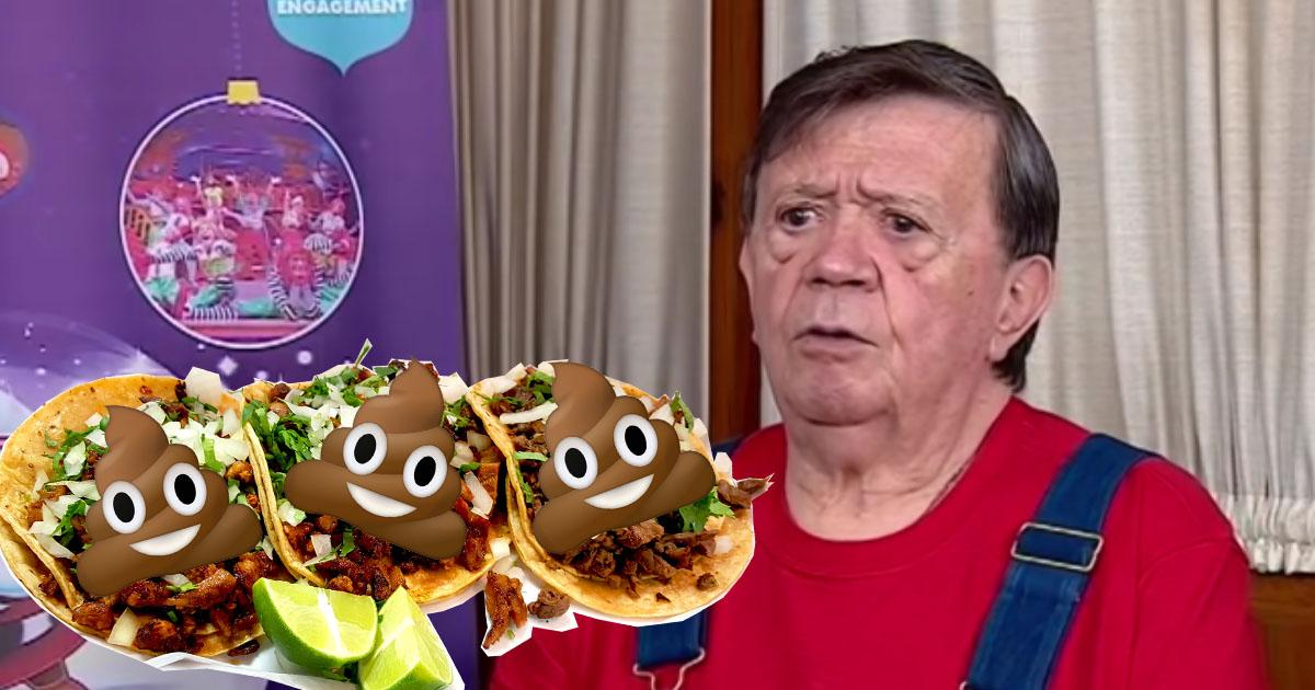 Chabelo Dice Que Comerá Taquitos De Caca, Chabelo, Taquitos De Caca, Chabelo Navidad, Chabelo Un Nuevo Día, Navidad