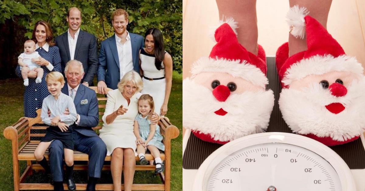 Familia Real Se Pesa Antes Despues Navidad, Familia Real Tradiciones Navideñas, Navidad, Familia Real, Meghan Markle, Principe Harry