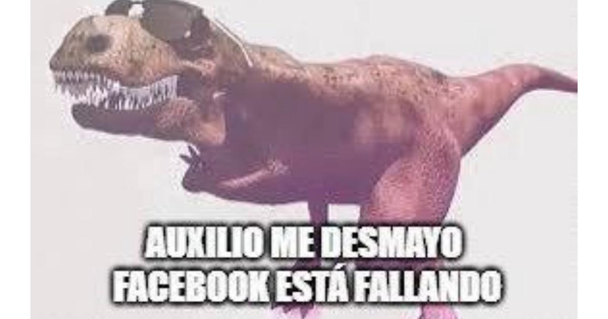 Memes por la caída de Facebook