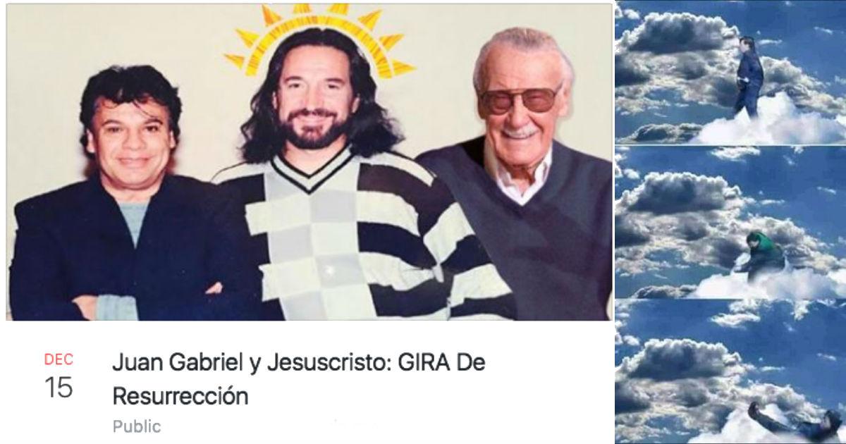 Gira Resurrección Juan Gabriel, Juan Gabriel Resucitará, Juan Gabriel No Está Muerto, Juan Gabriel, Resurreeción, Concierto