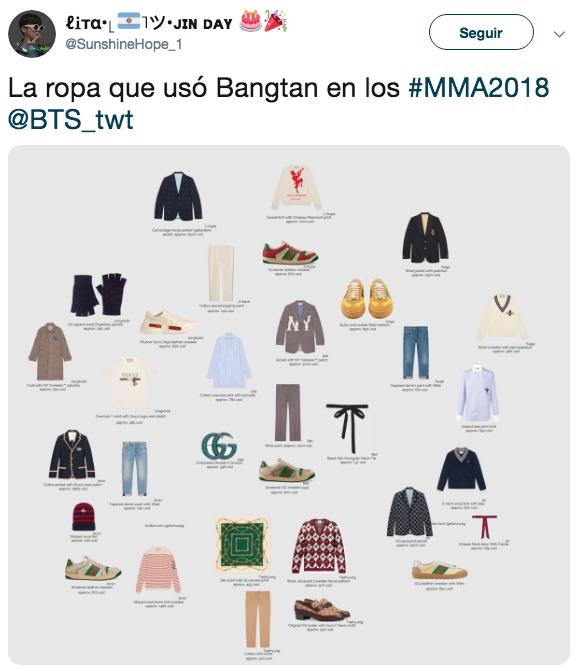 BTS Gana múltiples premios en los Melon Music Awards 2018