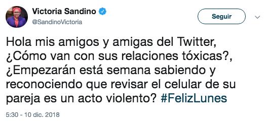 Los mejores tweets del como van con su tóxico