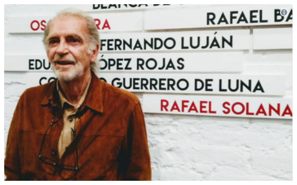Fallece el primer actor Fernando Luján. Descansa en paz.