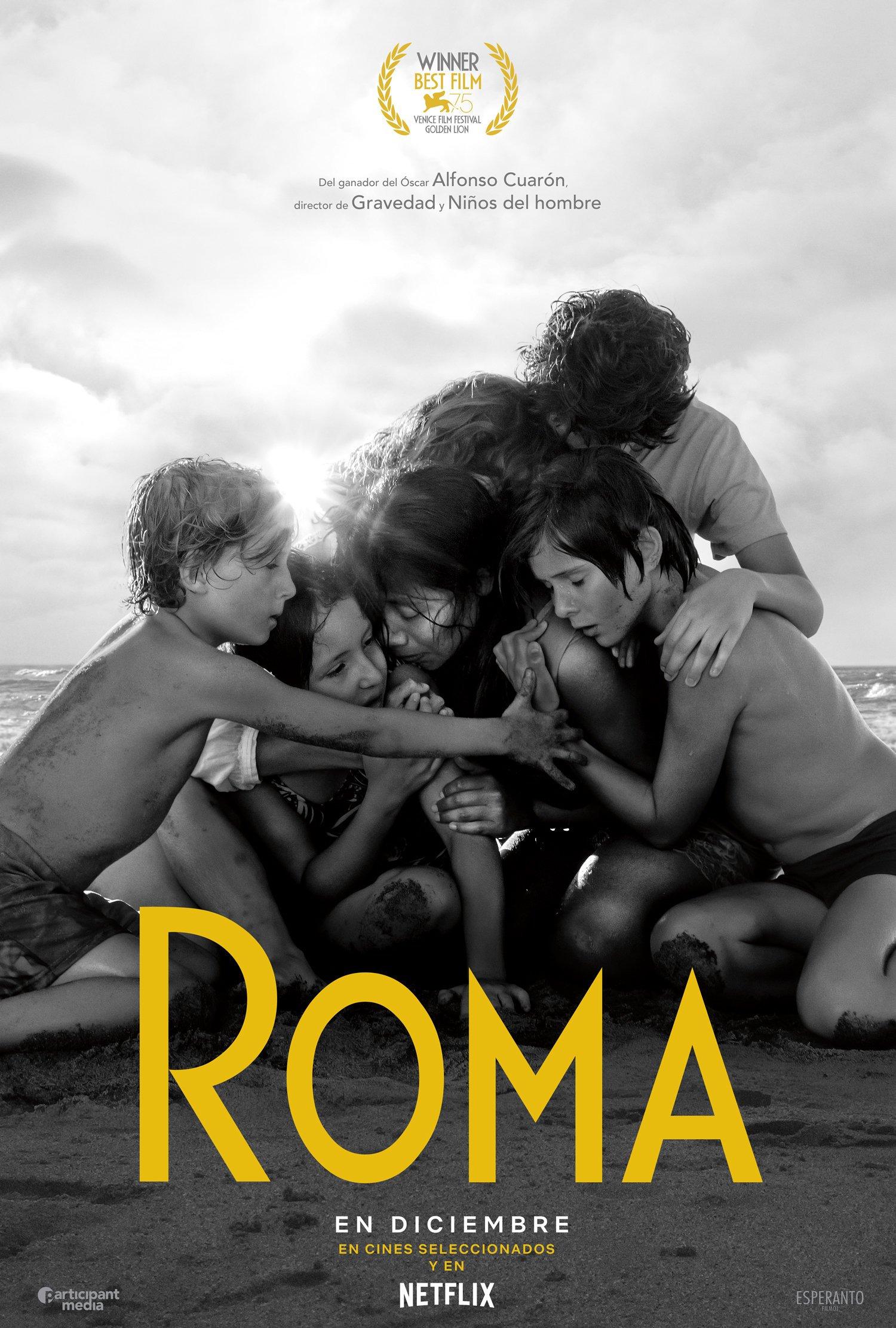 Roma podría hacer historia en los premios OSCAR