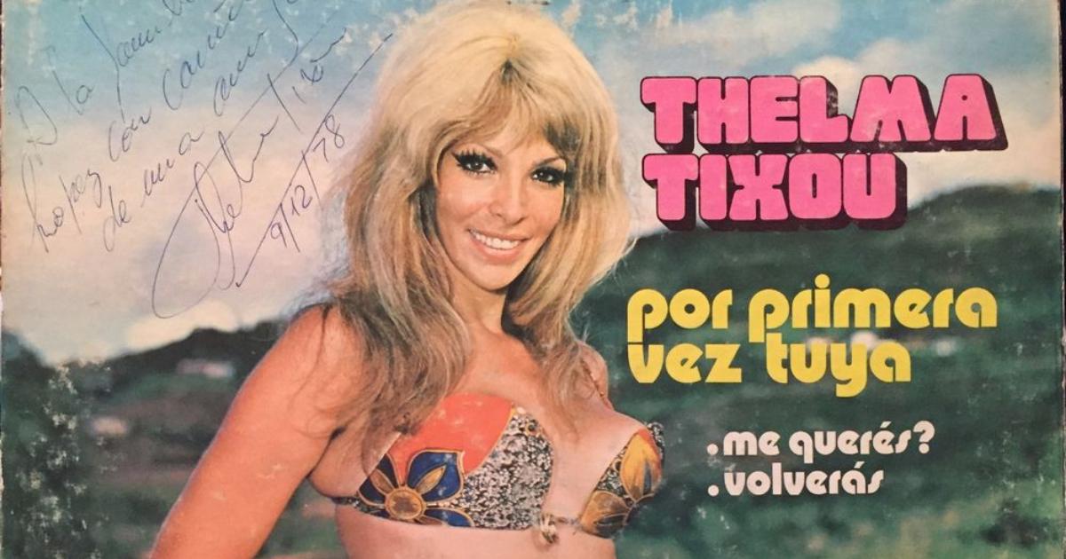 Muere Thelma Tixou, Quien Era Thelma Tixou, Thelma Tixou, Muerte, Muere, Ex Vedette Argentina,
