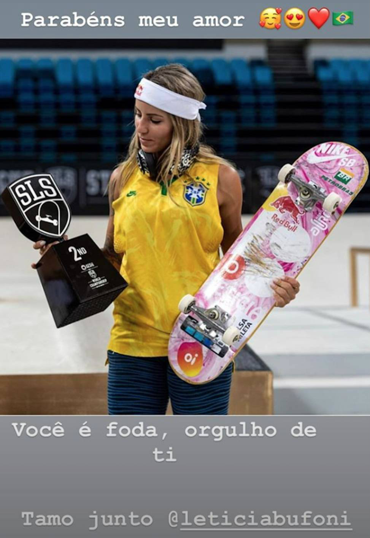 Neymar confirma noviazgo con skater brasilena