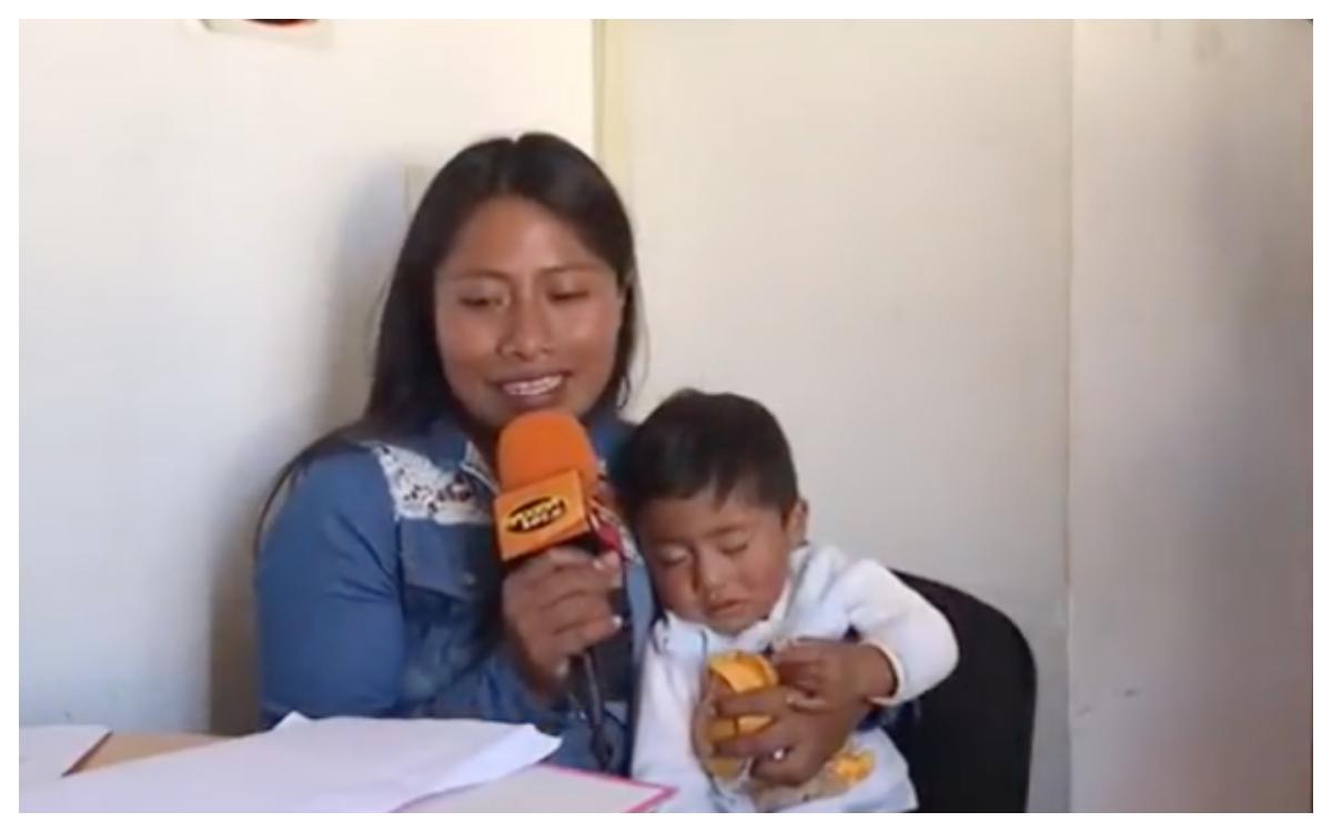 Así fue la primera entrevista de Yalitza Aparicio