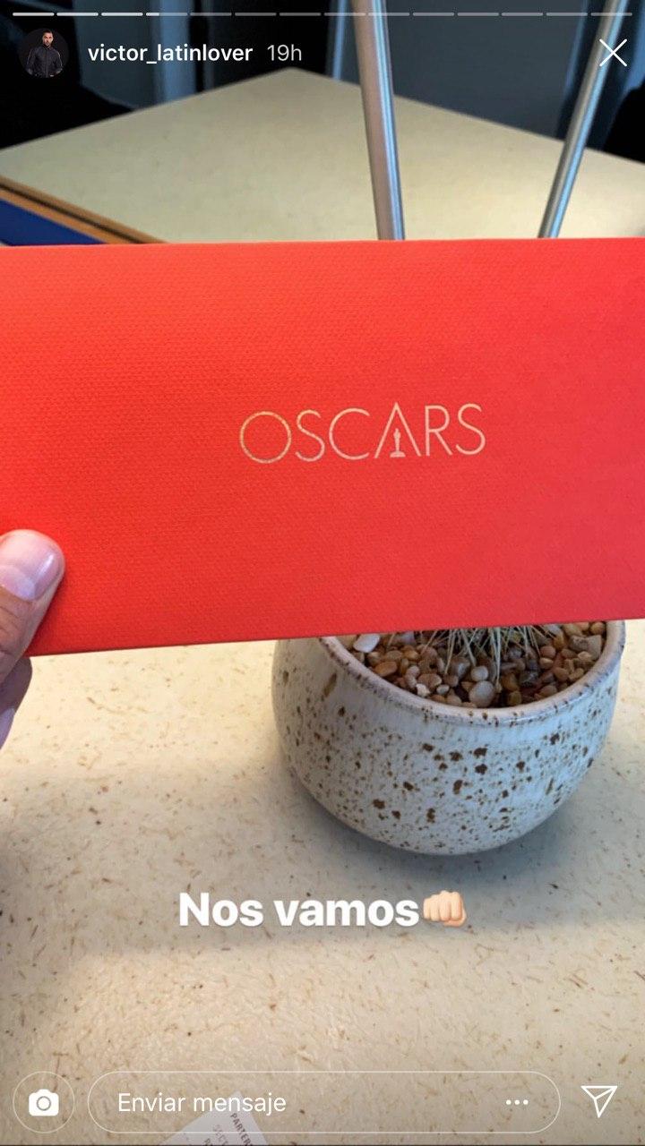 Latin Lover comparte historias del premio Oscar