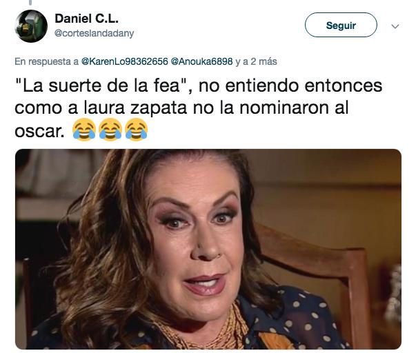 Laura Zapata llama fea a Yalitza Aparicio