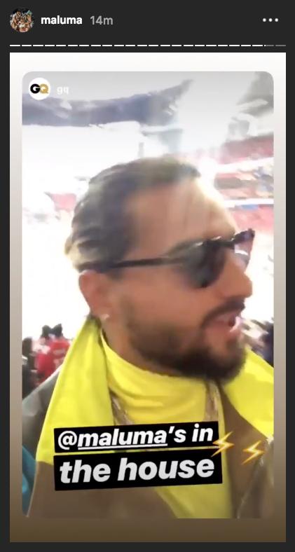 Maluma confirmado en el Show del Medio tiempo del Super Bowl