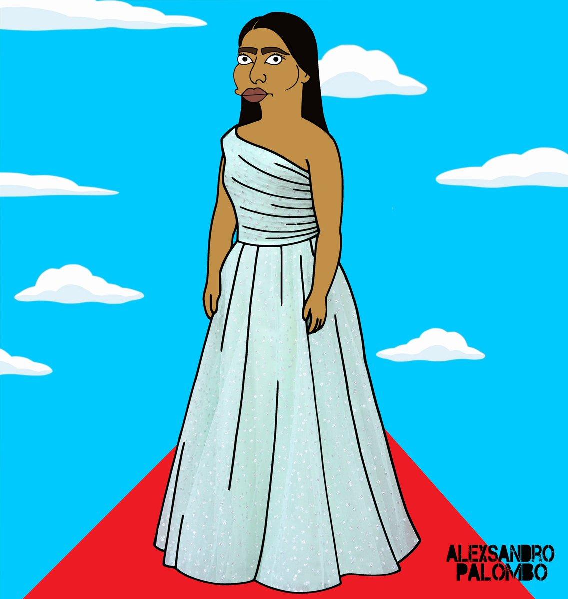 Yalitza Aparicio de los Simpson