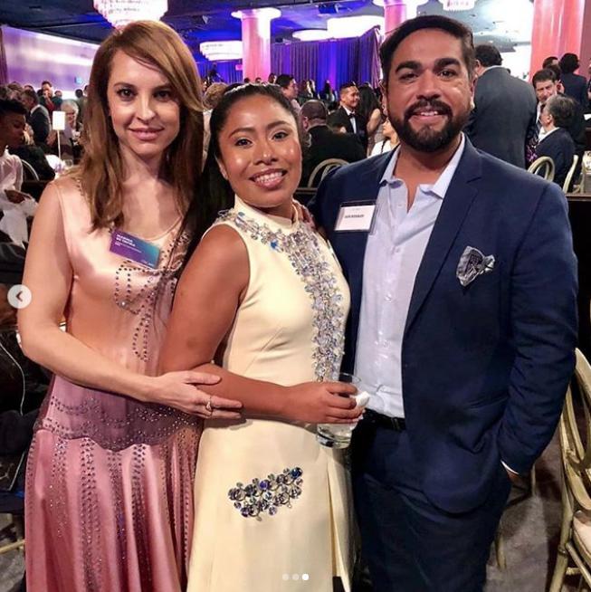 Yalitza Aparicio se reúne con Lady Gaga