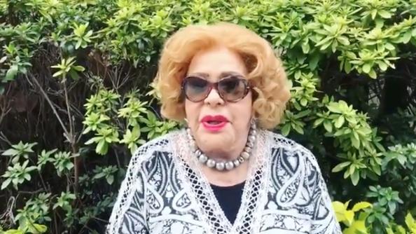 Alejandra Guzmán habla del estado de salud de Silvia Pinal