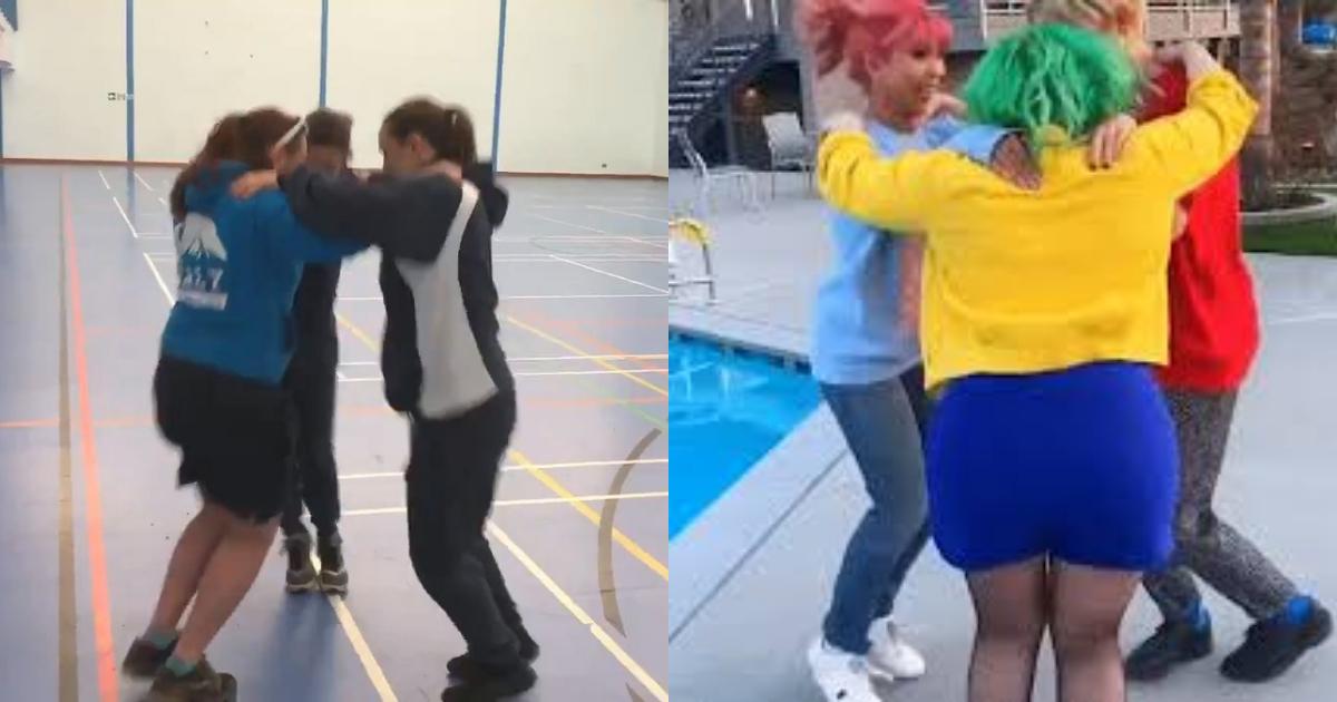 Videos Triangle Dance, Triangle Dance, Triangle Dance Challenge, Triangle Challenge, Baile Del Triángulo, Cómo Se Llama El Baile Del Triángulo