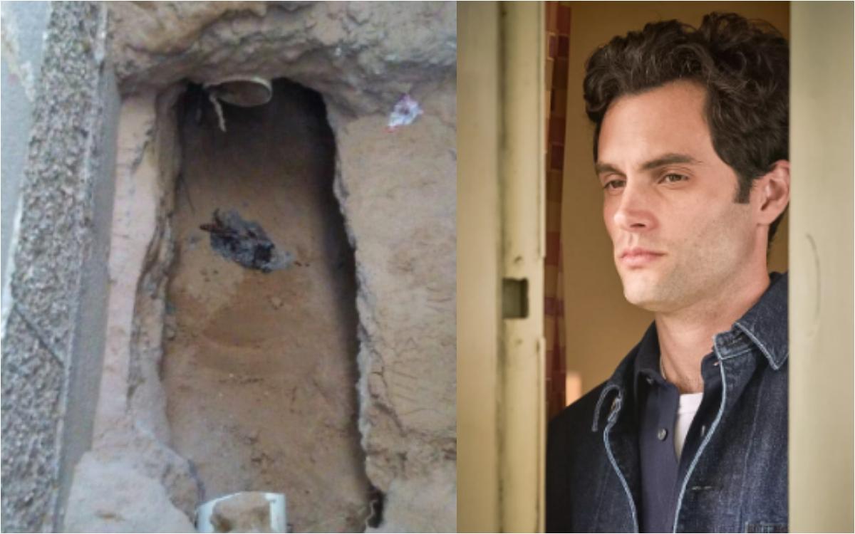 Cavó un túnel para espiar a su ex pareja y quedó atrapado