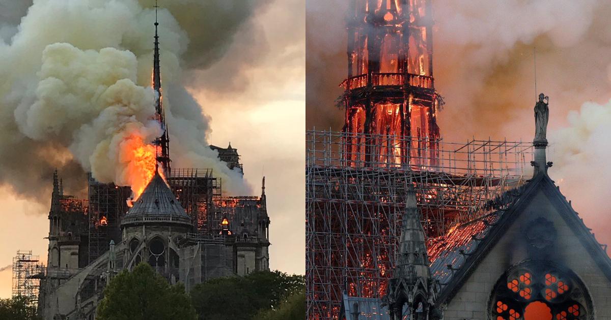 Fotos Videos Incendio Catedral De Notre Dame, Catedral De Notre Dame Incendio, Incendio Catedral De Notre Dame, Fotos, Videos, Incendio
