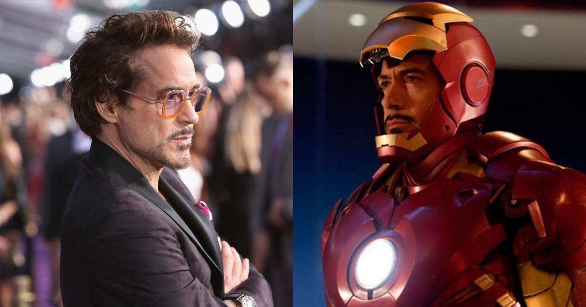 Iron Man salvó la vida de Robert Downey Jr