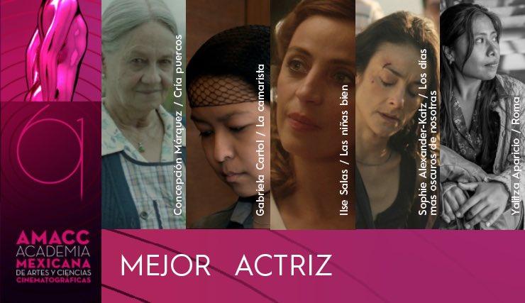 Yalitza Aparicio es nominada al Premio Ariel