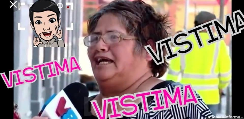 Memes de señora víctima